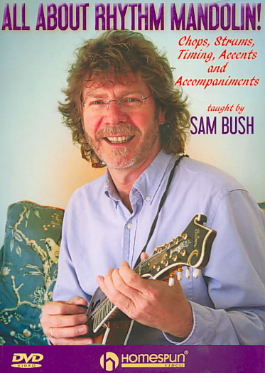 ALL ABOUT RHYTHM MANDOLIN BY BUSH,SAM (DVD)
